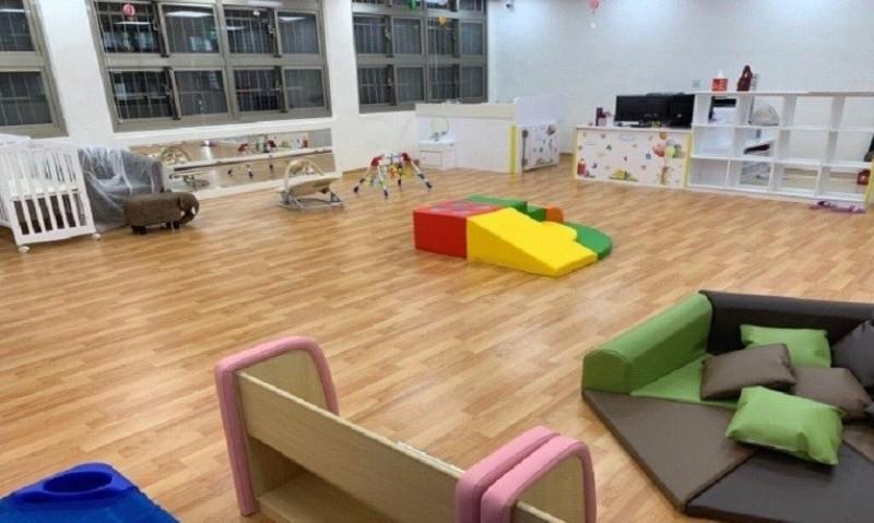 基隆市首家社區公共托育家園7月開始收托0至2歲嬰幼兒12名,家園經由規劃,讓幼兒有良好的托育環境。(記者俞肇福翻攝)