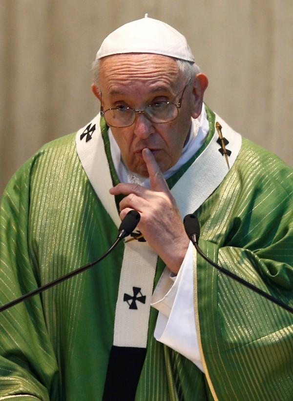 中國天主教愛國會副主席孟青錄今天聲稱,中梵協議有效期限為2年,約滿後是否續約再經由雙方協議。圖為天主教教宗方濟各。(路透)