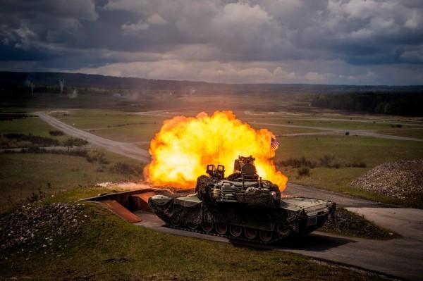 陸軍採購M1A2戰車傳已經拍板定案。(歐新社)