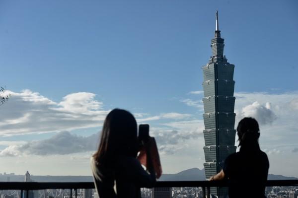 台北101大樓。(資料照,記者簡榮豐)