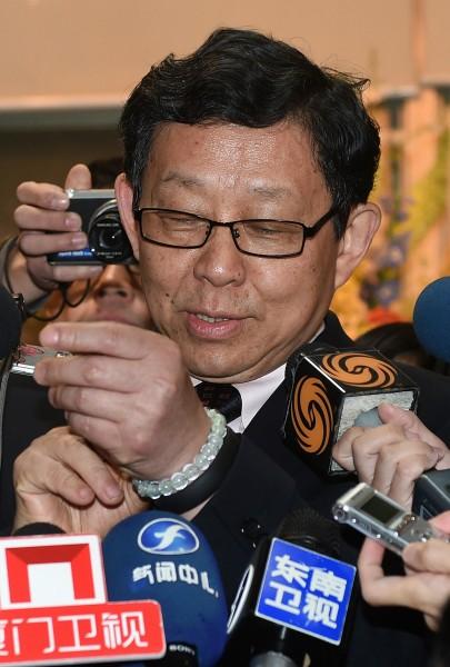 中國海協會長陳德銘今天下午1時將至台北市吉品海鮮餐廳用餐,將有機會與台北市長當選人柯文哲碰面。(資料照,記者簡榮豐攝)