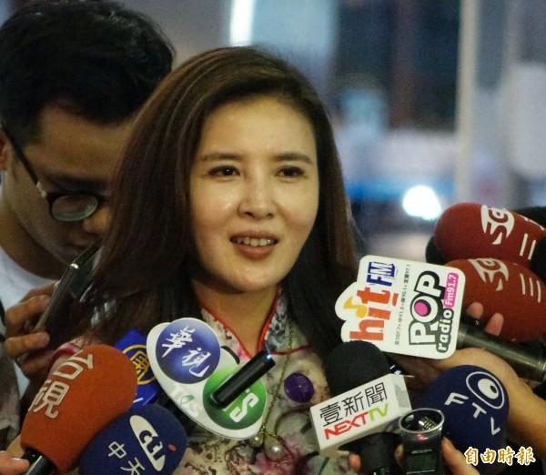 國民黨台北市議員王欣儀7日凌晨在臉書語出驚人的表示:「『統帥』酒店倒,執政黨會不會倒不知道。」遭到網友罵翻。(資料照)