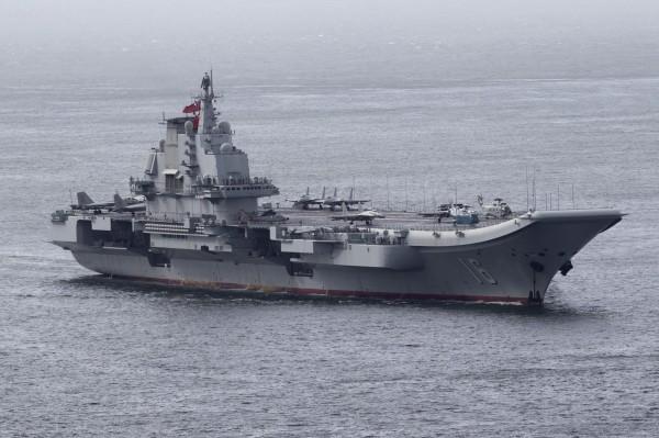 遼寧號航空母艦。(資料照,美聯社)
