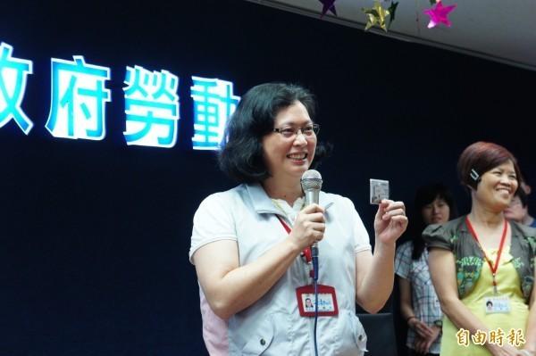 台北市勞動局長賴香伶將針對銀行業實施大規模勞檢,標準被稱為史上最嚴。(資料照,記者黃建豪攝)