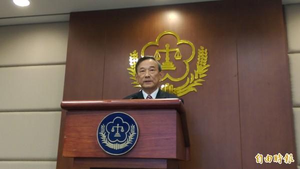 法務部次長陳明堂表示,台灣高等法院檢察署已請台北地檢署派員了解原委。(資料照,記者項程鎮攝)