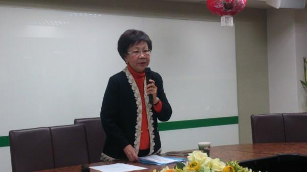 前副總統呂秀蓮昨日表示,若馬政府在25日前不讓陳水扁保外就醫,將會發起絕食抗議的行動。(資料照,記者陳慧萍攝)