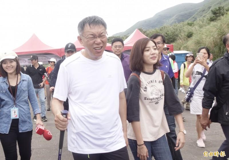 由柯文哲籌組的台灣民眾黨預計本週將公布第一波參選名單,傳「學姐」黃瀞瑩沒有在內。(資料照)