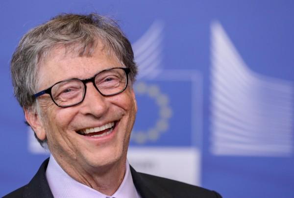 比爾蓋茲夫婦旗下基金會,宣布中止與沙國王儲500萬美元合作案。(歐新社)