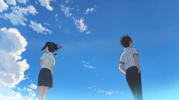 《你的名字》電影上映後,在日本持續熱賣,但卻無法登上今年熱銷榜的首位。(傳影提供)