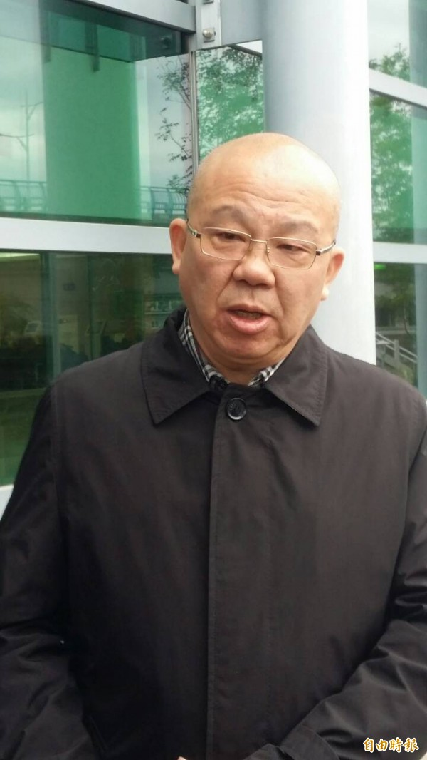 二二八事件紀念基金會執行長劉紀繼斌,上午也出庭聆判,指尚未決定是否上訴。(記者楊國文攝)