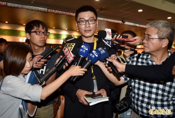 台北市議員梁文傑在臉書回應林飛帆的公開信,稱「政策和法律真的不能自己想怎樣就怎樣。」(資料照,記者簡榮豐攝)