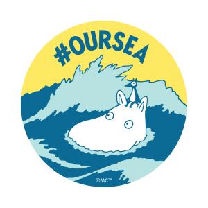 芬蘭著名卡通人物「姆米」的版權公司(Moomin Characters Ltd)希望在明年藉由姆米75週年紀念活動,來推動「波羅的海」海洋生態的保護運動,向全世界宣揚海洋生態的重要性。(圖擷取自Twitter_Spark sustainability)