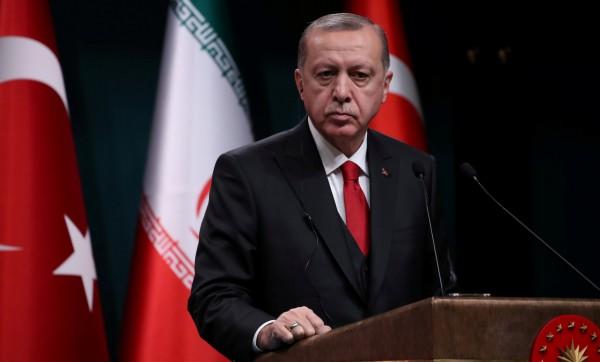 土耳其總統艾多根稱,美國自敘利亞撤軍是正確決定。(路透)