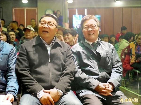 民進黨宜蘭縣長重新布局,可能變成立委陳歐珀(左)和宜蘭代理縣長陳金德(右)雙雄之爭。(資料照)