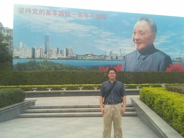 一名北大台籍博士生張立齊公開聲稱,台灣「言論不自由、思想被壟斷」,還說已申請加入中國共產黨多年。(圖擷自臉書)