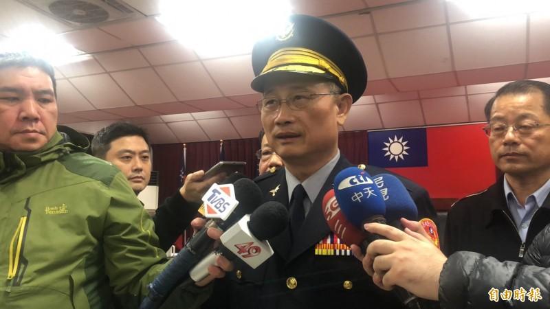警政署長陳家欽今晚親自坐鎮。(資料照,記者王宣晴攝)