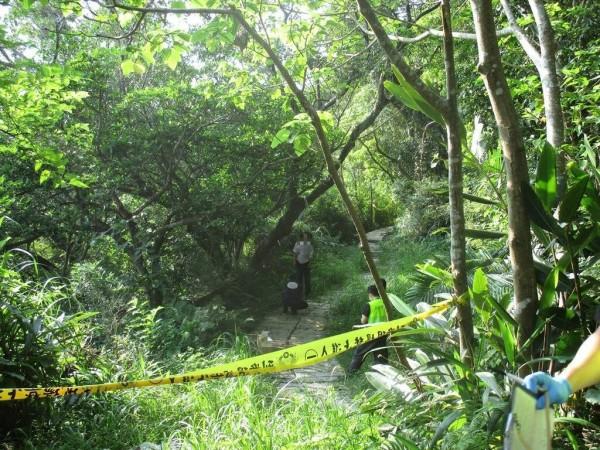 新店區和美山上發生上吊案件,死者是多年前性侵兩未成年女兒、上月被判20年的林姓男子。(記者陳薏云翻攝)