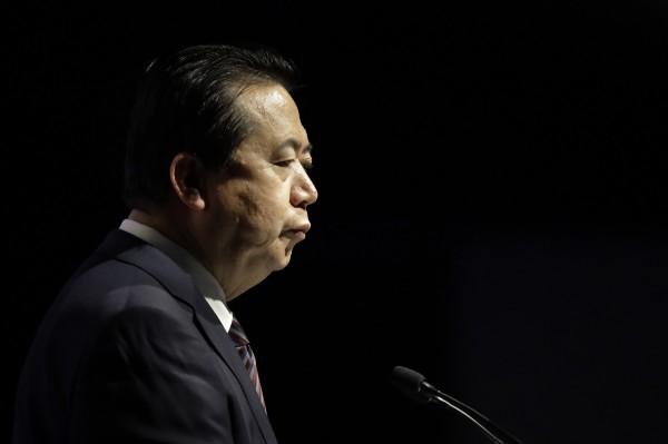 中國籍國際刑警組織主席,同時擔任中國公安部副部長的孟宏偉,被爆出他9月底回中國後失蹤。(美聯社)