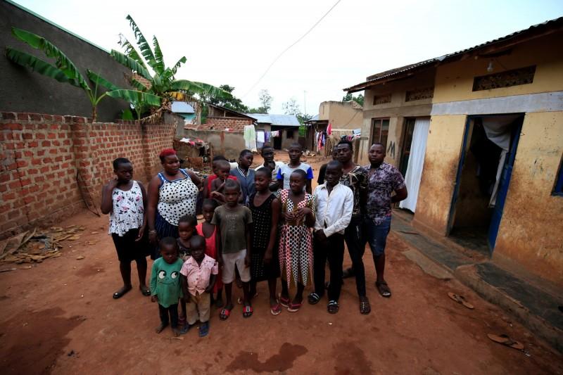 烏干達一名女子娜芭坦茲共產下44名子女,成為當地傳奇性人物。(路透)