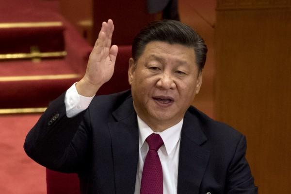 習近平成為毛澤東之後,首位還在世時就把自己名字列進黨章的中共領導人。(美聯社)