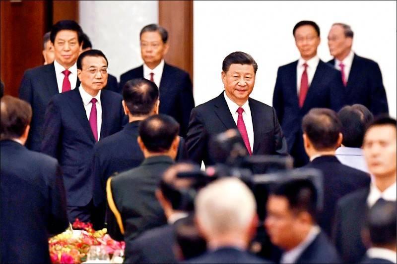 中國國家主席習近平近日高調南巡,被外界解讀是穩固個人地位。(法新)