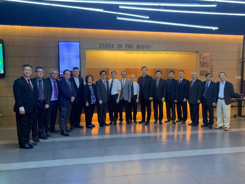 香港基督教界15名代表昨日於香港政府總部會見林鄭月娥,提出4點心聲,盼港府愛惜年輕人。(擷取自中國基督教播道會總會網頁)