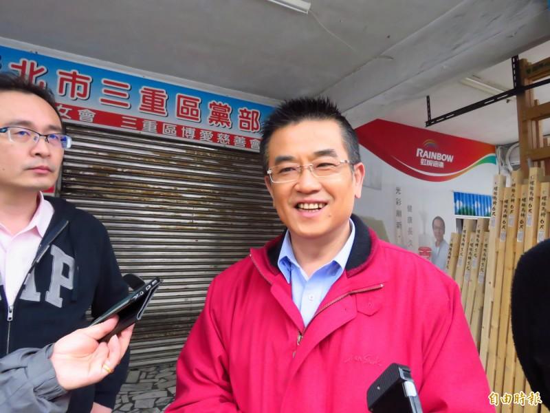 中國國民黨員鄭世維日前參選三重立委補選失利,其父昨(22日)也不敵病魔辭世,鄭世維低調表示「謝謝各位關心」。(資料照)