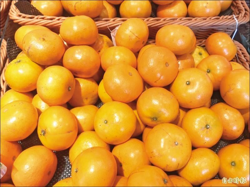 國民健康署指出,吃橘子並不能預防阿茲海默症。(資料照)