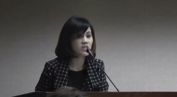 東部護家盟代表陳慈美表示,他能夠理解「次等公民」的感覺,但她堅決反對同志婚姻。(圖擷取自網路)