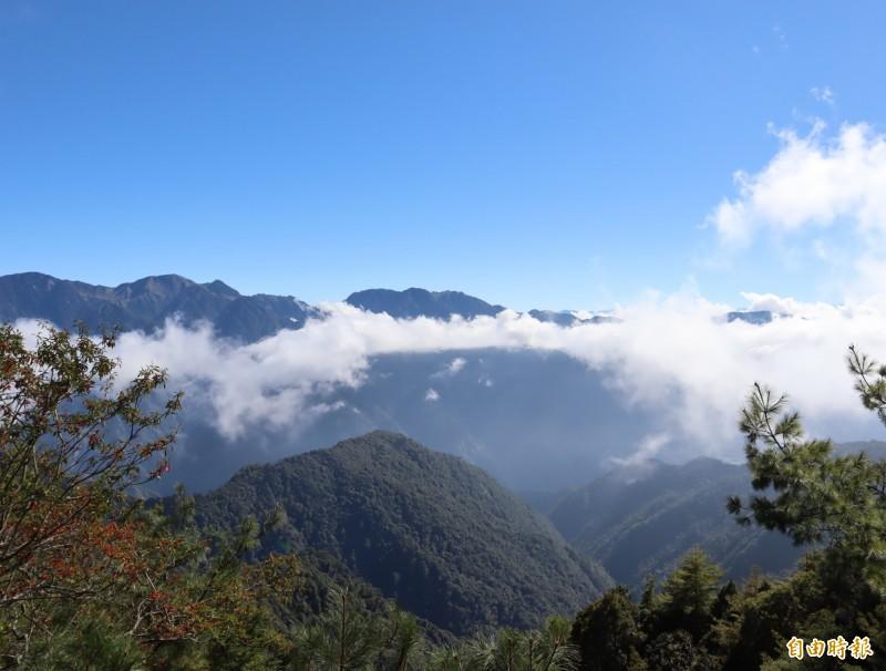 大雪山國家森林遊樂暫時休園。(資料照)