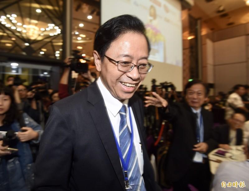 現擔任韓國瑜國政顧問團總召的張善政今(8)日表示,對於韓國瑜副手人選遲不公布,他猜測有2大原因:沒有時間及國民黨內部態勢問題。(資料照)
