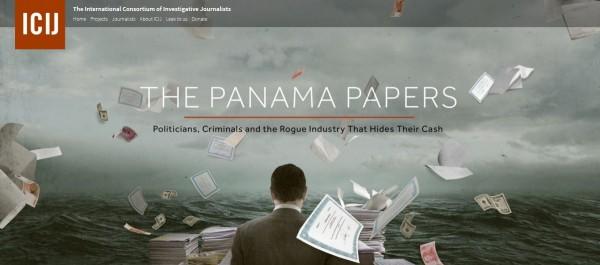 《天下雜誌》近期將刊登台版「巴拿馬文件」。(圖擷取自ICIJ網站)
