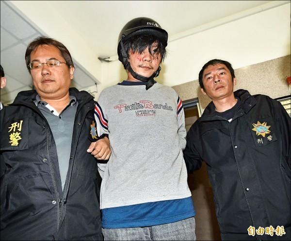 小燈泡命案嫌犯王景玉。(資料照,記者方賓照攝)