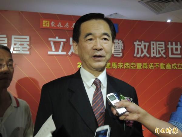 東森房屋董事長王應傑表示,放不放颱風假企業主自己決定即可「政府憑什麼替企業做決定?」(資料照,記者林美芬攝)