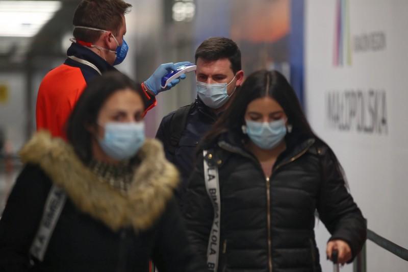 羅馬尼亞出現首例肺炎確診病例。(歐新社)