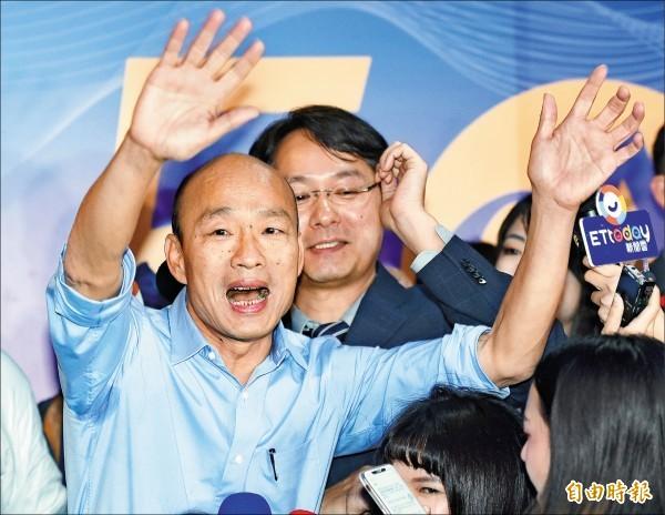 韓國瑜欲在高雄打造類似泰國的電影後製產業,對此魏德聖呼籲「別太衝動」。(資料照)