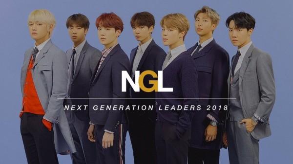 《時代》稍早公開最新一期的封面,就是當紅南韓偶像團體BTS,更稱呼他們為「次世代領導者」(NEXT GENERATION LEADERS)。(圖擷取自Twitter)