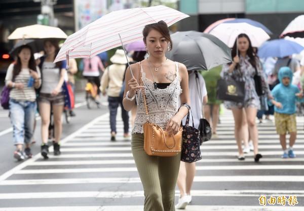 連日高溫炎熱,中央氣象局提醒民眾慎防熱傷害。(資料照)
