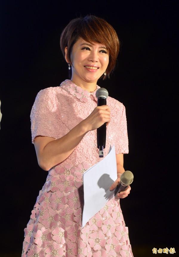 三立新聞資深女主播陳雅琳。(資料照,記者王藝菘攝)