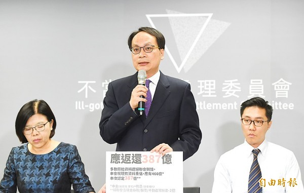 《TAIPEI TIMES》 NWL ordered to relinquish NT$38.7bn in assets