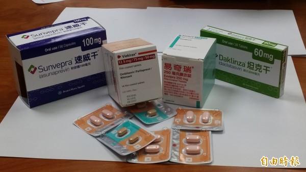 國內C肝新藥明年將納入健保給付。(資料照,記者林惠琴攝)