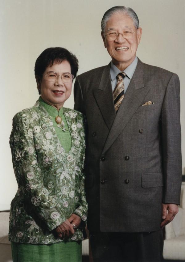 李登輝、曾文惠伉儷。(總統府提供)