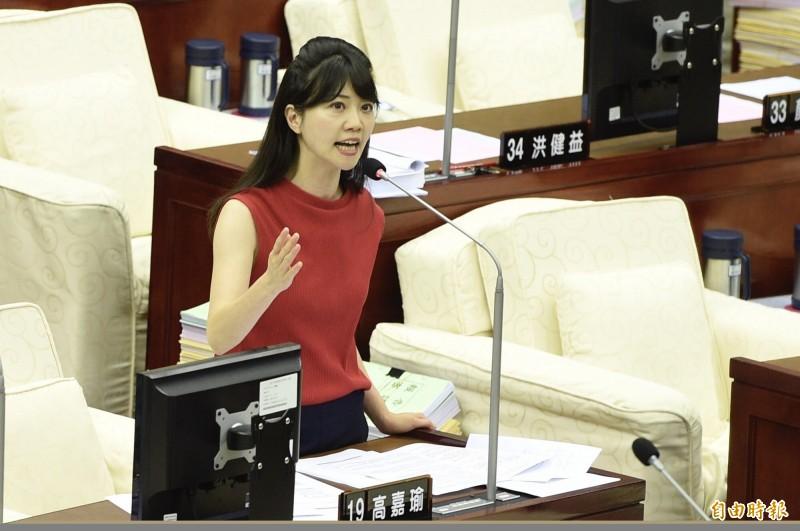 民進黨中執會預計通過台北市第四選區提名台北市議員高嘉瑜。(資料照,記者叢昌瑾攝)