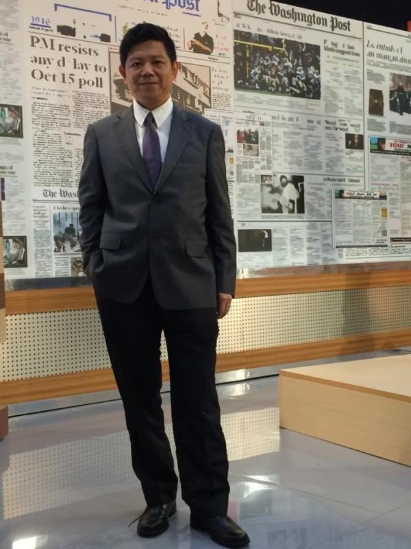 台北市立委參選人潘建志(資料照,記者曾德蓉攝)
