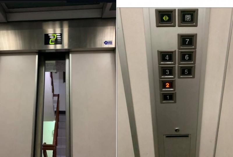 一名網友今日凌晨在臉書「爆怨公社」發文,大罵「誰說2樓不能搭電梯,我XX也有繳500,是比你繳的少膩!」引起不少網友共鳴。(擷取自臉書「爆怨公社」)