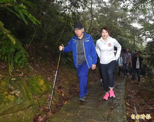 台北市長柯文哲表示,每次選舉都有可以改進的地方,但是這樣要是判選舉無效,全台灣比照辦理還得了。(記者方賓照攝)