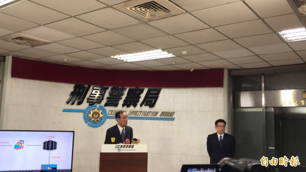 遠東商銀作業暨資訊服務中心副總劉龍光表示,該病毒來自外部,經資安公司確認是尚未見過的新病毒,正積極追查來源。(記者邱俊福攝)
