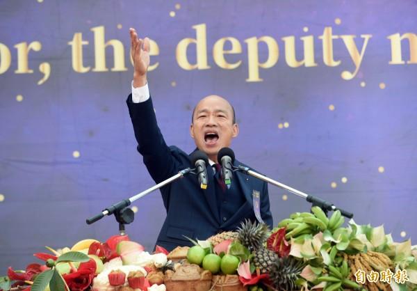 新任高雄市長韓國瑜日前語出驚人,表示小港國際機場已經不敷使用,拋出興建「高屏國際大機場」的想法,卻被網友猛批。(資料照)