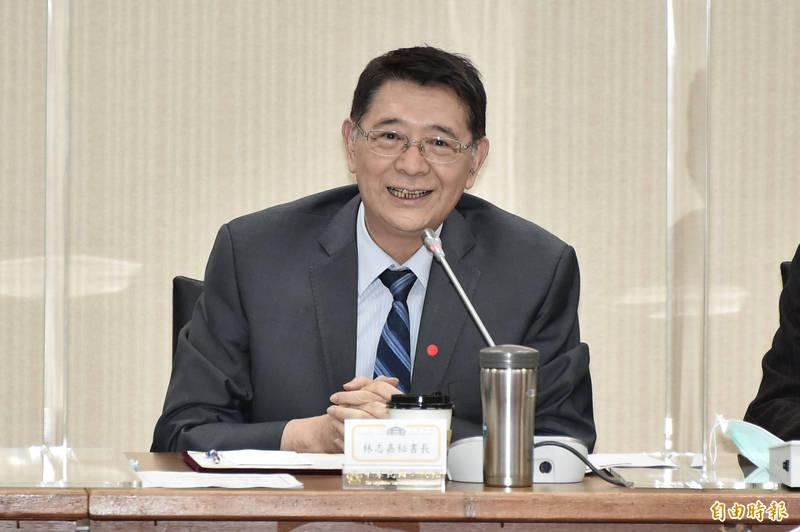 立法院秘書長林志嘉出席立法院今17日舉辦「中華民國與捷克、西班牙國會友好聯誼會」成立大會。 (記者塗建榮攝)
