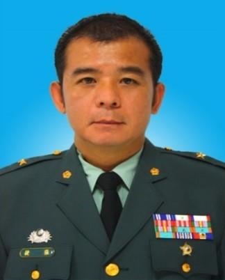 總統府侍衛長張捷自請處分並將予以調職。(圖:國防部提供)
